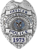 VA Police Badge in use from 1989 to 2013 USA - Veterans Affairs Police Badge.png