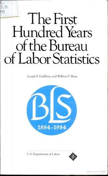file usbls bulletin 2235 the first hundred years of the bureau of labor statistics 1985 djvu. Black Bedroom Furniture Sets. Home Design Ideas