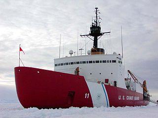 USCGC <i>Polar Sea</i> (WAGB-11) heavy icebreaker ship