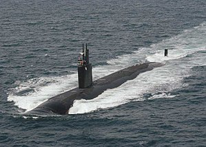 Los Angeles-class submarine - Image: USS Asheville (SSN 758)2