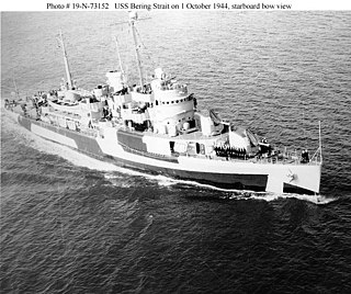 USS <i>Bering Strait</i> (AVP-34)