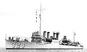 USS Bruce DD-329
