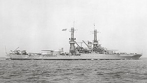 USS Idaho (BB-42) - USS Idaho in 1927