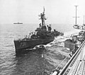 USS Maddox (DD-731) is refueled in the South China Sea in 1964.jpg