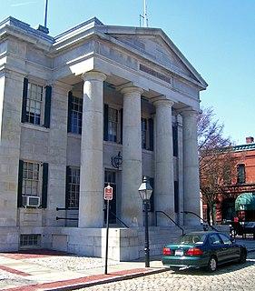 United States Customhouse (New Bedford, Massachusetts) United States historic place