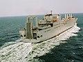 US Navy 030530-N-0000X-005 Sea trials of USNS Benavidez (T-AKR-306) by Northrop Grumman Ship System Avondale Operations.jpg
