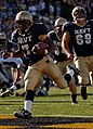 US Navy 051105-N-9693M-018 U.S. Naval Academy Midshipman 3rd Class Reggie Campbell crosses the goal line to give Navy its 5th touchdown of the game.jpg