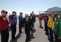 US Navy 071006-N-0194K-002 Secretary of Defense Robert M. Gates arrives aboard USNS Comfort.jpg