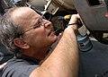 US Navy 081204-N-2456S-086 Mr. Timothy Kennedy installs a cherry max rivet on an EA-6B Prowler.jpg