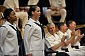 US Navy 090529-N-8273J-017 Finalists of the Chief of Naval Operations Shore Activities Sailor of the Year are introduced to the official party during the announcement ceremony at the Pentagon.jpg