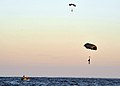 US Navy 100608-N-8689C-177 Navy SEALs and special warfare combatant-craft crewmen parachute during a maritime craft aerial deployment system exercise off the coast of Fort Walton Beach Florida.jpg