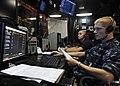 US Navy 100808-N-5838W-030 Air Traffic Controller Airman Apprentice Daniel T. Haupt, left, and Air Traffic Controller Airman Tyler S. Sip.jpg