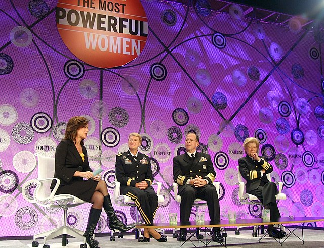 US Navy 101006-N-1923S-015 Fortune Most Powerful Women Summit in Washington, D.C