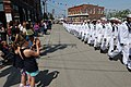 US Navy 110704-N-GA722-593 Sailors march through downtown Eastport during the Independence Day Parade.jpg