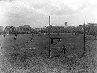 Clark Field (1887) - Image: UT clark field 1916
