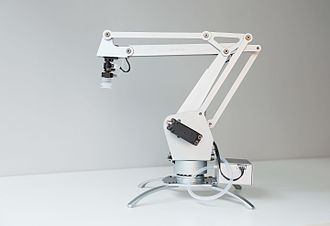Robotic arm - Image: Uarm metal wiki 2