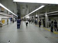 Umeda station Midosuji line platform1.jpg