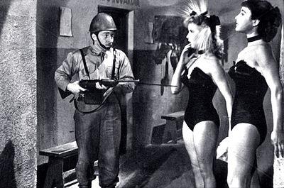 Carlo Croccolo, Delia Scala, Silvana Pampanini