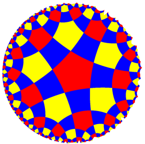 Tetrapentagonal tiling - Image: Uniform tiling 552 t 02