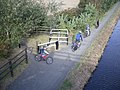Union Canal cyclists - geograph.org.uk - 604770.jpg