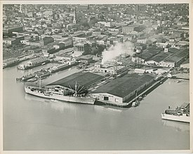 Port of charleston wikipedia union pier terminal in the 1950s charlestons malvernweather Images