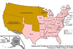 Territorial Evolution Of California Wikipedia