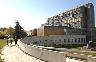 Cantonal and University Library of Lausanne - One of the sites of the Library on the campus of the University of Lausanne