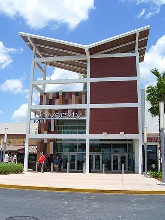 University Mall (Tampa, Florida) - Entrance of University Mall.