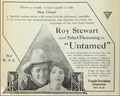 Untamed Roy Stewart Ethel Flemming 1918.png