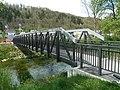 Unterer Fachwerksteg über den Neckar in Oberndorf.jpg