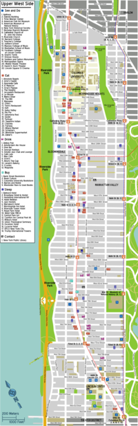 Upper West Side Wikivoyage Guida Turistica Di Viaggio
