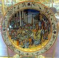Urbino, bottega fontana, piatto a raffaellesche con congiarum (da t. zuccari), 1565-75 ca..JPG
