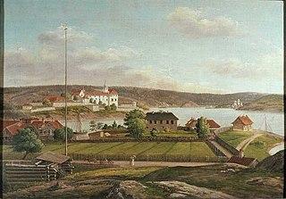 Utsikt fra Helverschou løkke mot Akershus