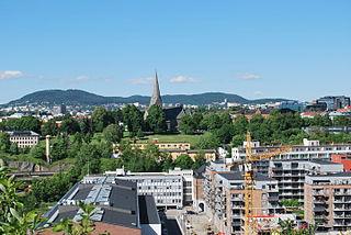 Gamle Oslo Borough in Norway