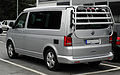 VW California Europe 2.0 TDI (T5, Facelift) – Heckansicht (1), 30. Juli 2011, Mettmann.jpg