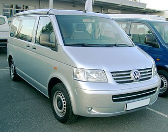 Volkswagen California - California Comfortline in Germany (pre-2010 model)