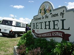 Bethel, New York.