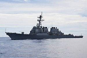 USS Fitzgerald - Image: Valiant Shield 2012 120912 N TX154 258