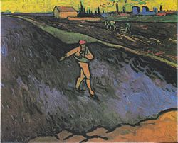 Vincent van Gogh: Sower: Outskirts of Arles in the Background, The