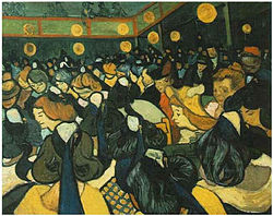 Vincent van Gogh: Dance Hall in Arles