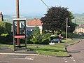 Vandalised phone box in Wooler - geograph.org.uk - 1420607.jpg