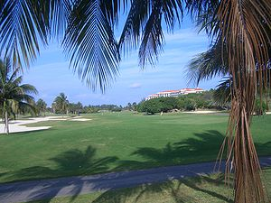 Golf course in Varadero, Cuba