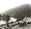 Vasútvonal a Fekete-Tisza parján a település közelében. Fortepan 86857.jpg