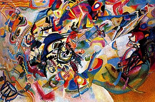 <i>Composition VII</i> 1913 watercolor by Wassily Kandinsky