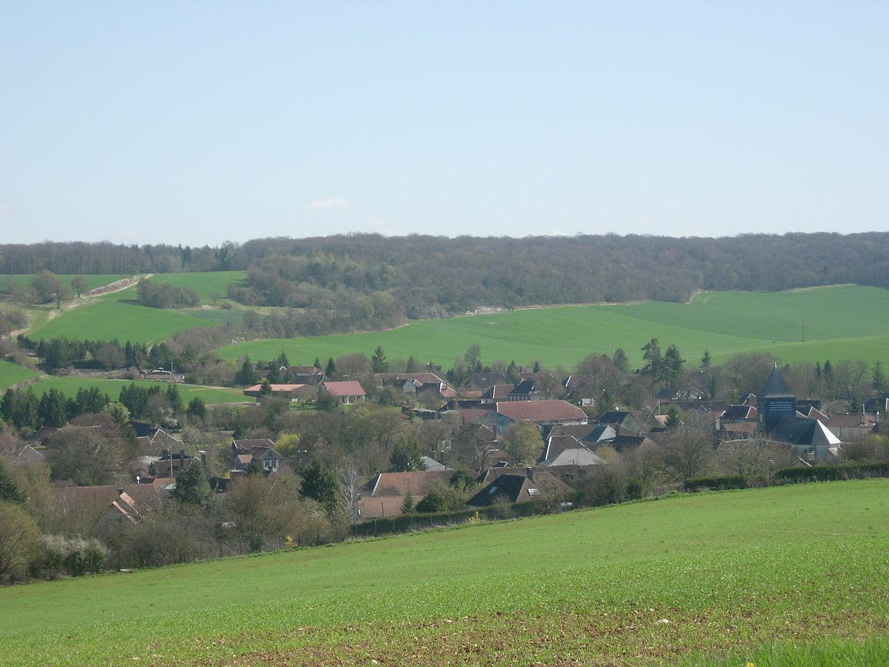 Le village de Vauchassis.