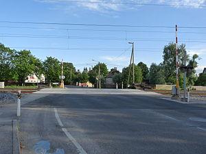 Luite - Image: Veerenni level crossing in Tallinn