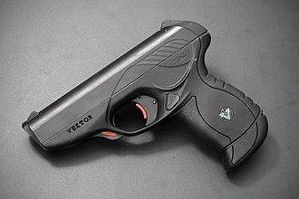 Armscor (South Africa) - Image: Vektor CP1 (25355876700)
