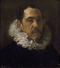 Velázquez - Caballero, Francisco Pacheco (Museo del Prado, c. 1622).jpg