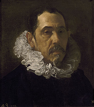 Francisco Pacheco - Portrait of Francisco Pacheco (1622) by Diego Velázquez.