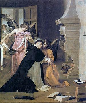 Temptation of St. Thomas (Velázquez) - Image: Velazquez Oriola